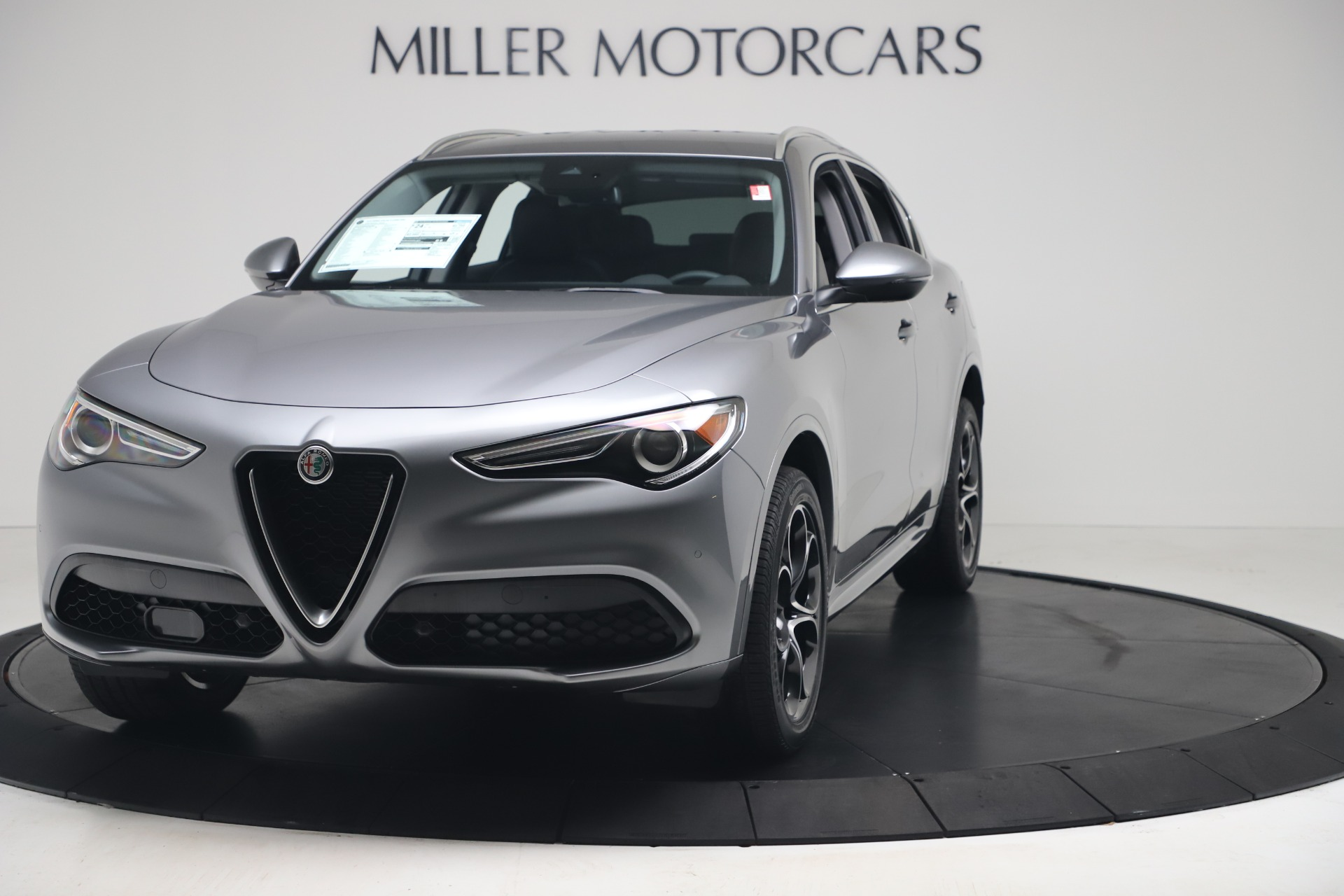New 2020 Alfa Romeo Stelvio Ti Lusso Q4 for sale $55,790 at Maserati of Greenwich in Greenwich CT 06830 1