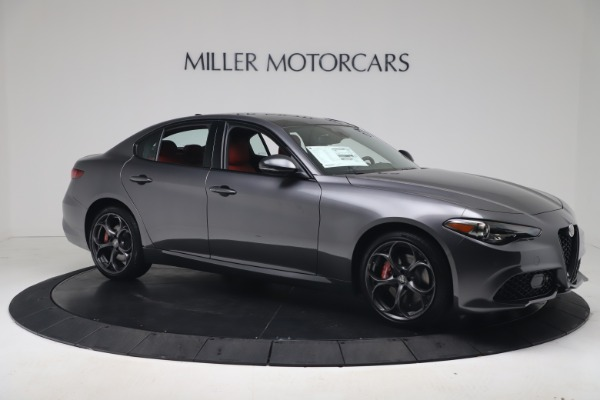 New 2020 Alfa Romeo Giulia Ti Sport Q4 for sale $53,790 at Maserati of Greenwich in Greenwich CT 06830 10