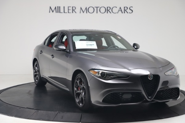 New 2020 Alfa Romeo Giulia Ti Sport Q4 for sale $53,790 at Maserati of Greenwich in Greenwich CT 06830 11