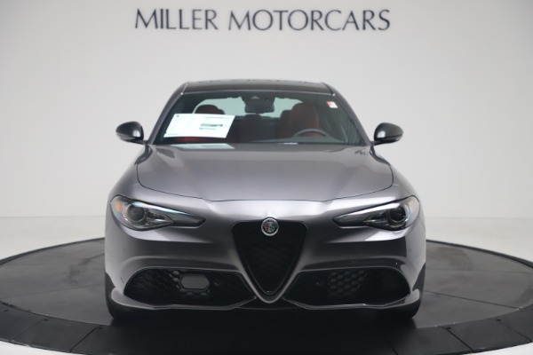 New 2020 Alfa Romeo Giulia Ti Sport Q4 for sale $53,790 at Maserati of Greenwich in Greenwich CT 06830 12