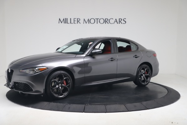 New 2020 Alfa Romeo Giulia Ti Sport Q4 for sale $53,790 at Maserati of Greenwich in Greenwich CT 06830 2