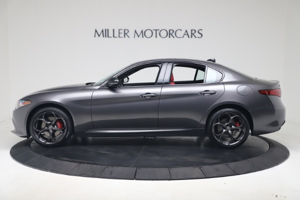 New 2020 Alfa Romeo Giulia Ti Sport Q4 for sale $53,790 at Maserati of Greenwich in Greenwich CT 06830 3