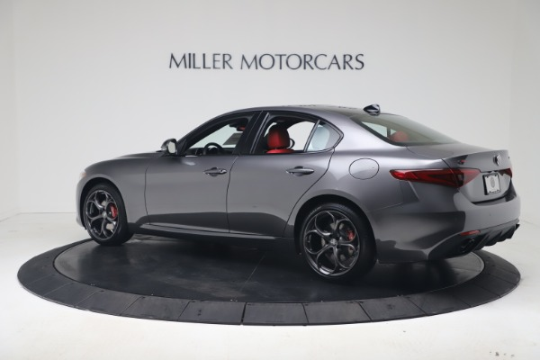 New 2020 Alfa Romeo Giulia Ti Sport Q4 for sale $53,790 at Maserati of Greenwich in Greenwich CT 06830 4