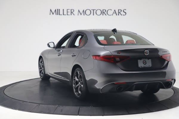 New 2020 Alfa Romeo Giulia Ti Sport Q4 for sale $53,790 at Maserati of Greenwich in Greenwich CT 06830 5