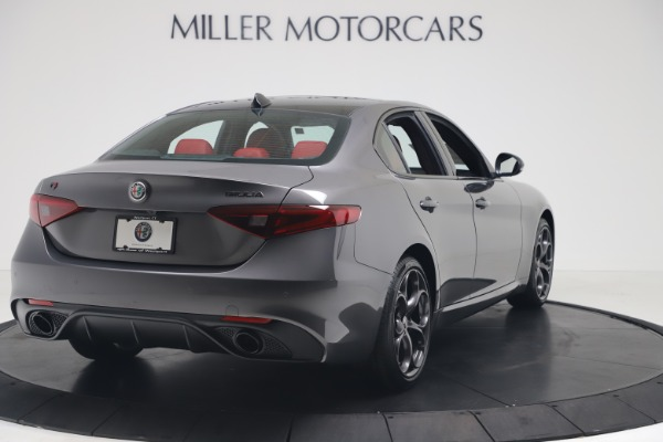 New 2020 Alfa Romeo Giulia Ti Sport Q4 for sale $53,790 at Maserati of Greenwich in Greenwich CT 06830 7