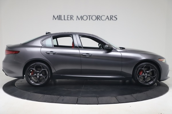 New 2020 Alfa Romeo Giulia Ti Sport Q4 for sale $53,790 at Maserati of Greenwich in Greenwich CT 06830 9