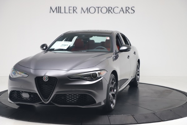 New 2020 Alfa Romeo Giulia Ti Sport Q4 for sale $53,790 at Maserati of Greenwich in Greenwich CT 06830 1