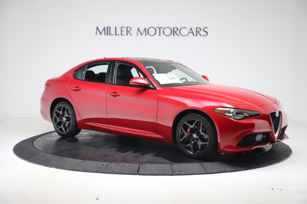 New 2020 Alfa Romeo Giulia Sport Q4 for sale $47,790 at Maserati of Greenwich in Greenwich CT 06830 10