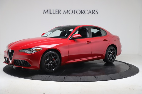 New 2020 Alfa Romeo Giulia Sport Q4 for sale $47,790 at Maserati of Greenwich in Greenwich CT 06830 2