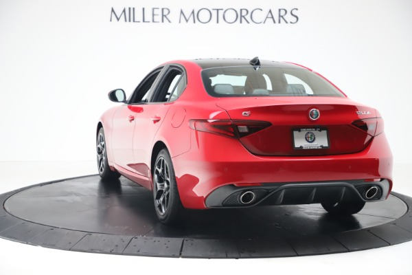 New 2020 Alfa Romeo Giulia Sport Q4 for sale $47,790 at Maserati of Greenwich in Greenwich CT 06830 5