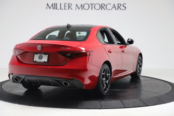 New 2020 Alfa Romeo Giulia Sport Q4 for sale $42,790 at Maserati of Greenwich in Greenwich CT 06830 7