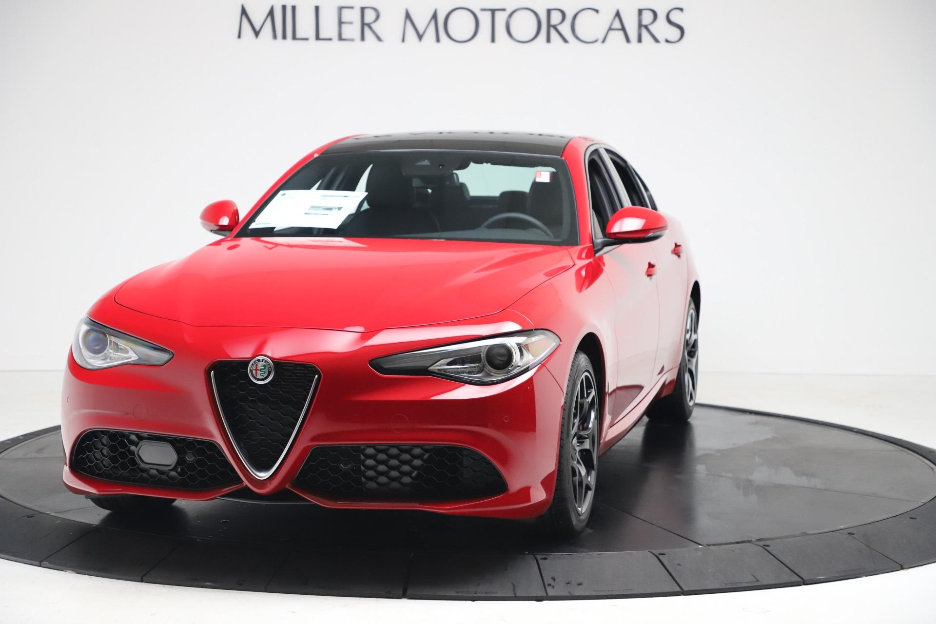New 2020 Alfa Romeo Giulia Sport Q4 for sale $42,790 at Maserati of Greenwich in Greenwich CT 06830 1