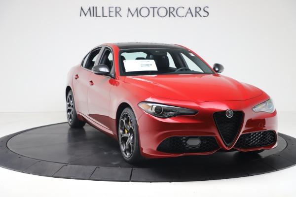 New 2020 Alfa Romeo Giulia Ti Sport Q4 for sale $56,690 at Maserati of Greenwich in Greenwich CT 06830 11