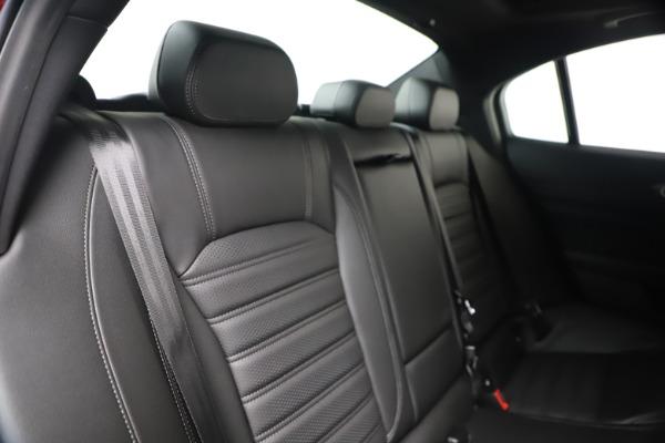 New 2020 Alfa Romeo Giulia Ti Sport Q4 for sale $56,690 at Maserati of Greenwich in Greenwich CT 06830 26