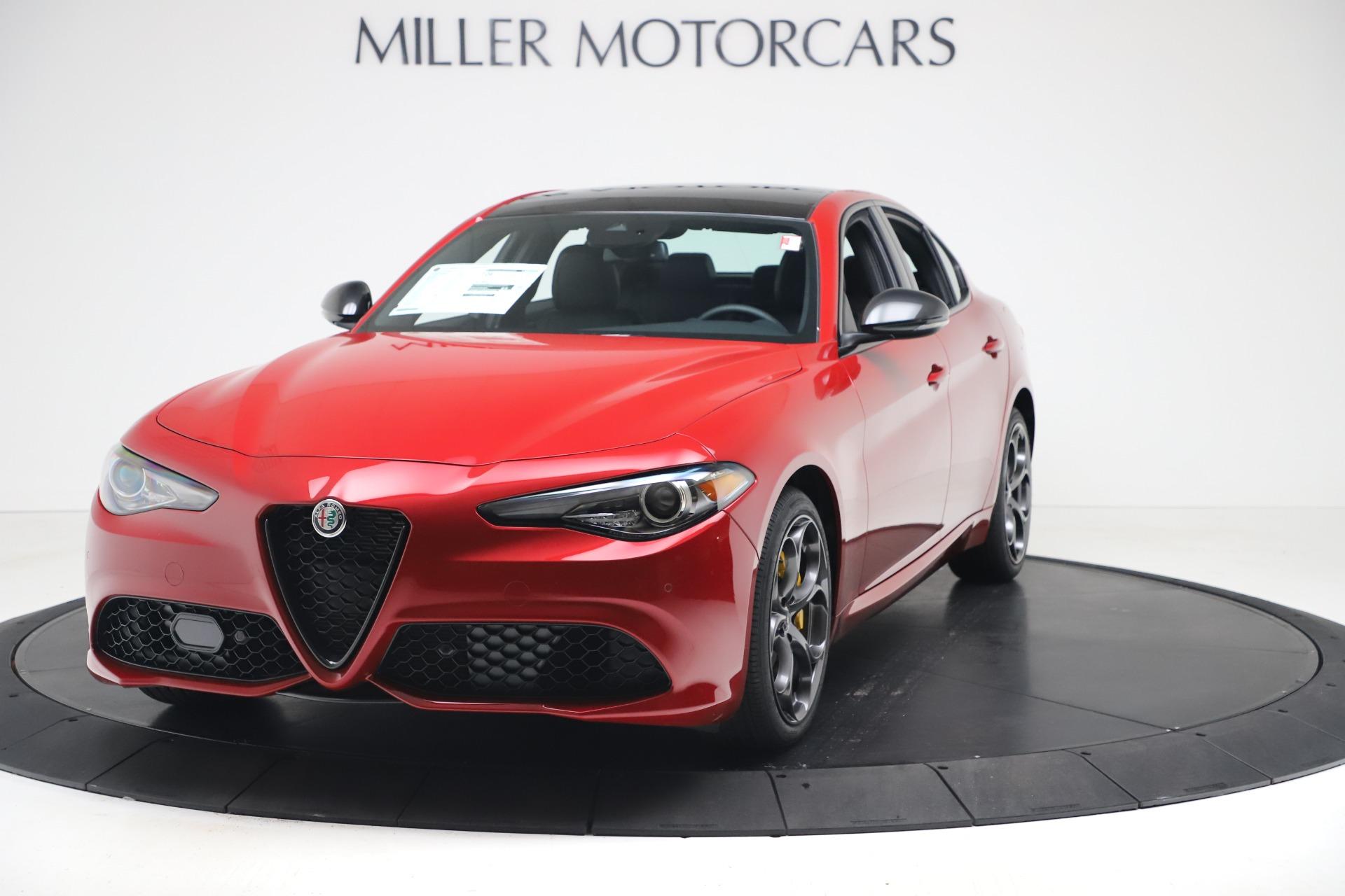 New 2020 Alfa Romeo Giulia Ti Sport Q4 for sale $56,690 at Maserati of Greenwich in Greenwich CT 06830 1