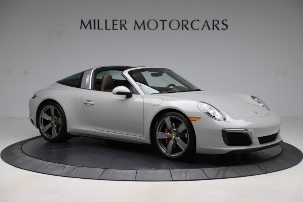 Used 2018 Porsche 911 Targa 4S for sale $134,900 at Maserati of Greenwich in Greenwich CT 06830 10