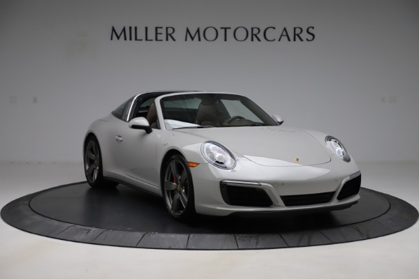 Used 2018 Porsche 911 Targa 4S for sale $134,900 at Maserati of Greenwich in Greenwich CT 06830 11