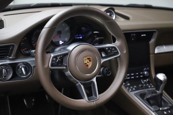 Used 2018 Porsche 911 Targa 4S for sale $134,900 at Maserati of Greenwich in Greenwich CT 06830 20