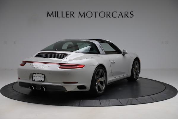Used 2018 Porsche 911 Targa 4S for sale $134,900 at Maserati of Greenwich in Greenwich CT 06830 7