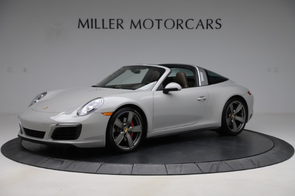 Used 2018 Porsche 911 Targa 4S for sale $134,900 at Maserati of Greenwich in Greenwich CT 06830 1