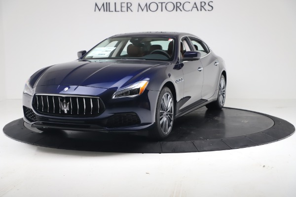 New 2020 Maserati Quattroporte S Q4 GranLusso for sale $122,185 at Maserati of Greenwich in Greenwich CT 06830 1