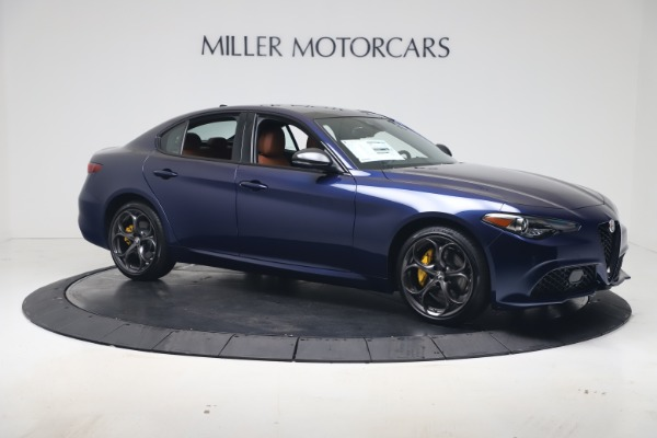 New 2020 Alfa Romeo Giulia Ti Sport Q4 for sale $52,840 at Maserati of Greenwich in Greenwich CT 06830 10