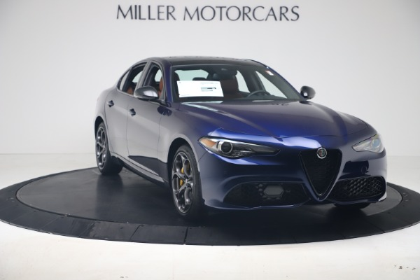 New 2020 Alfa Romeo Giulia Ti Sport Q4 for sale $52,840 at Maserati of Greenwich in Greenwich CT 06830 11