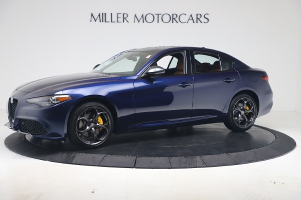 New 2020 Alfa Romeo Giulia Ti Sport Q4 for sale $52,840 at Maserati of Greenwich in Greenwich CT 06830 2