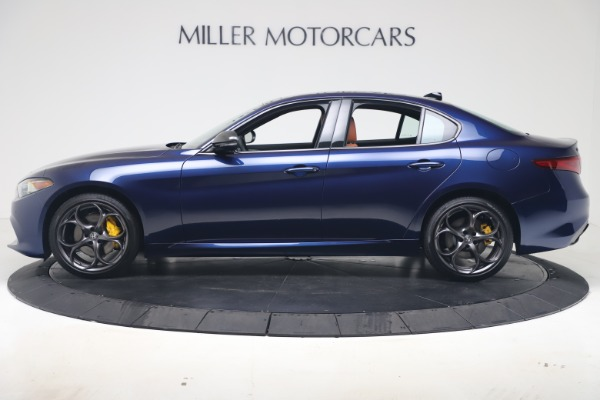 New 2020 Alfa Romeo Giulia Ti Sport Q4 for sale $52,840 at Maserati of Greenwich in Greenwich CT 06830 3