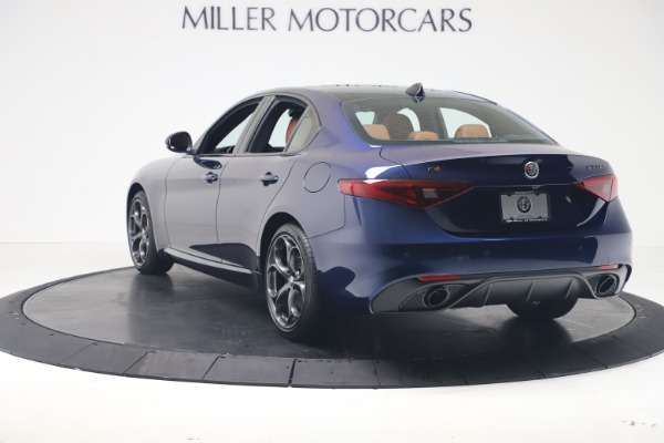 New 2020 Alfa Romeo Giulia Ti Sport Q4 for sale $52,840 at Maserati of Greenwich in Greenwich CT 06830 5