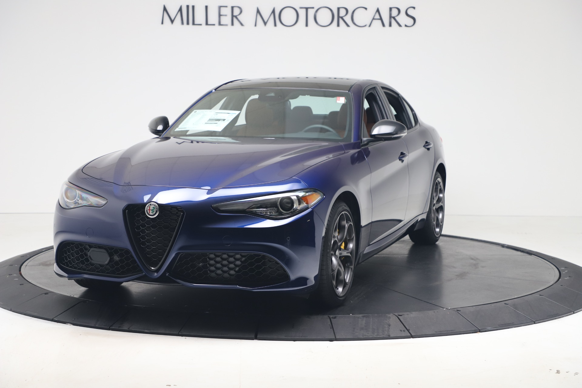 New 2020 Alfa Romeo Giulia Ti Sport Q4 for sale $52,840 at Maserati of Greenwich in Greenwich CT 06830 1