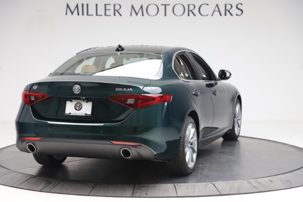 New 2020 Alfa Romeo Giulia Q4 for sale Sold at Maserati of Greenwich in Greenwich CT 06830 7