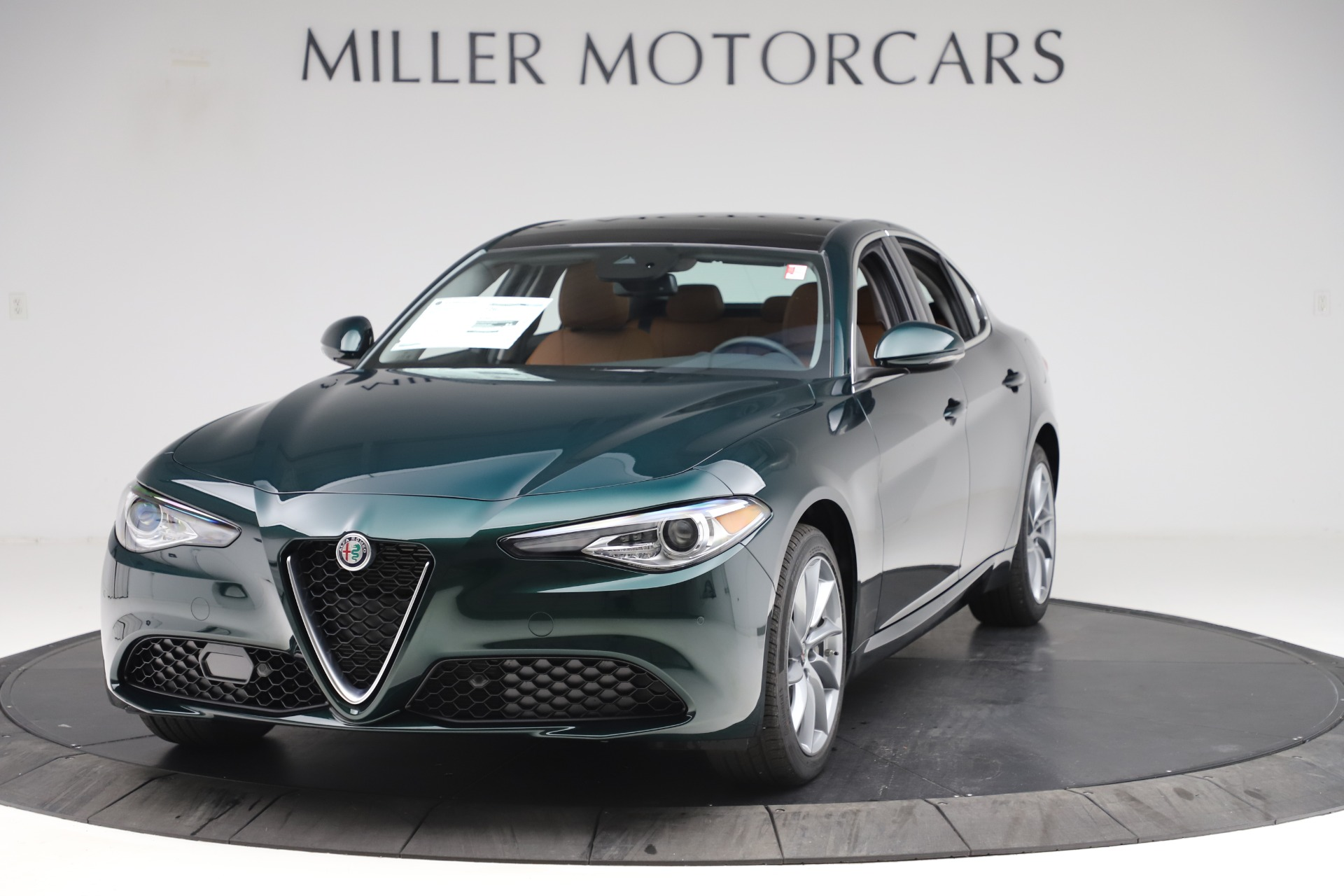 New 2020 Alfa Romeo Giulia Q4 for sale Sold at Maserati of Greenwich in Greenwich CT 06830 1