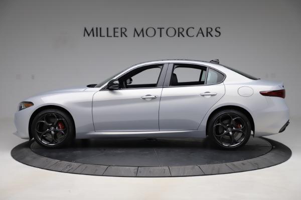 New 2020 Alfa Romeo Giulia Ti Sport Q4 for sale $51,590 at Maserati of Greenwich in Greenwich CT 06830 3