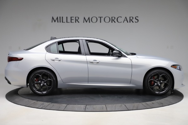 New 2020 Alfa Romeo Giulia Ti Sport Q4 for sale Sold at Maserati of Greenwich in Greenwich CT 06830 9