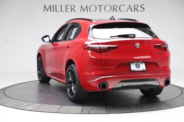 New 2020 Alfa Romeo Stelvio Sport Q4 for sale $50,190 at Maserati of Greenwich in Greenwich CT 06830 5