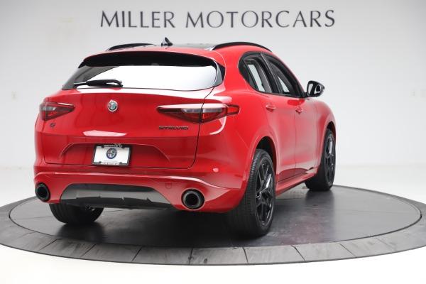 New 2020 Alfa Romeo Stelvio Sport Q4 for sale $50,190 at Maserati of Greenwich in Greenwich CT 06830 7
