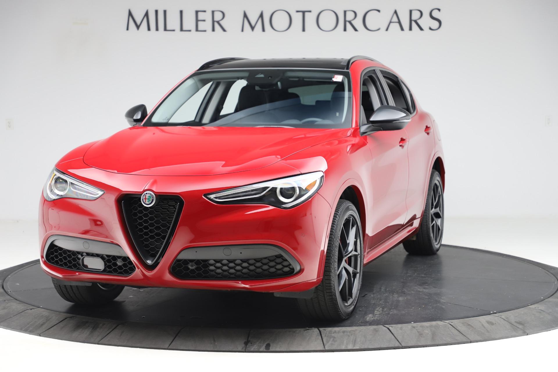 New 2020 Alfa Romeo Stelvio Sport Q4 for sale $50,190 at Maserati of Greenwich in Greenwich CT 06830 1