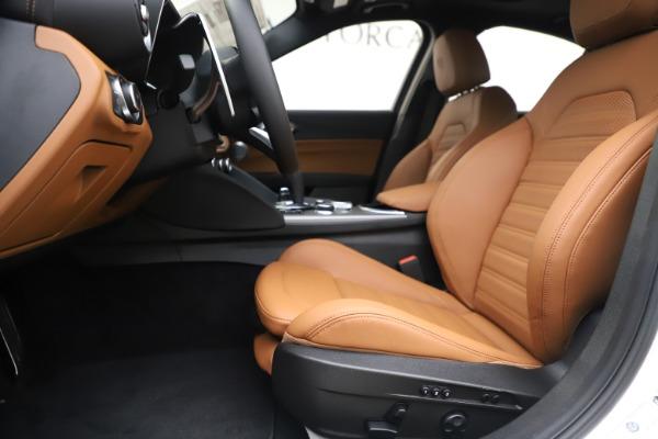 New 2020 Alfa Romeo Giulia Ti Sport Q4 for sale $53,190 at Maserati of Greenwich in Greenwich CT 06830 14