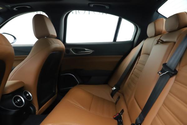 New 2020 Alfa Romeo Giulia Ti Sport Q4 for sale $53,190 at Maserati of Greenwich in Greenwich CT 06830 19
