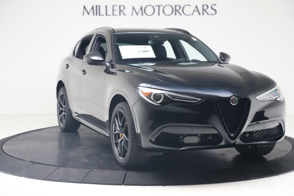 New 2020 Alfa Romeo Stelvio Ti Sport Q4 for sale $57,590 at Maserati of Greenwich in Greenwich CT 06830 11