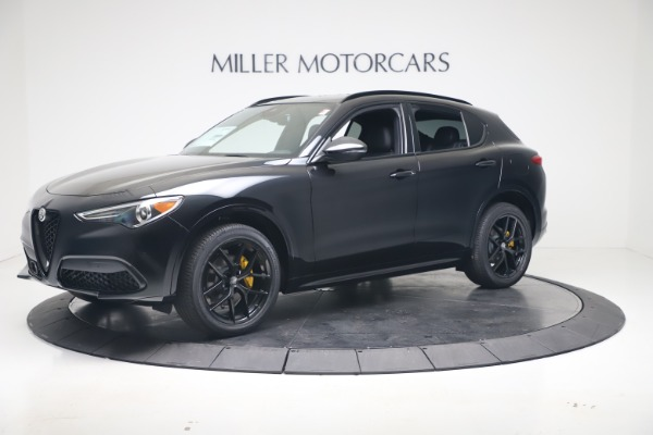 New 2020 Alfa Romeo Stelvio Ti Sport Q4 for sale $57,590 at Maserati of Greenwich in Greenwich CT 06830 2