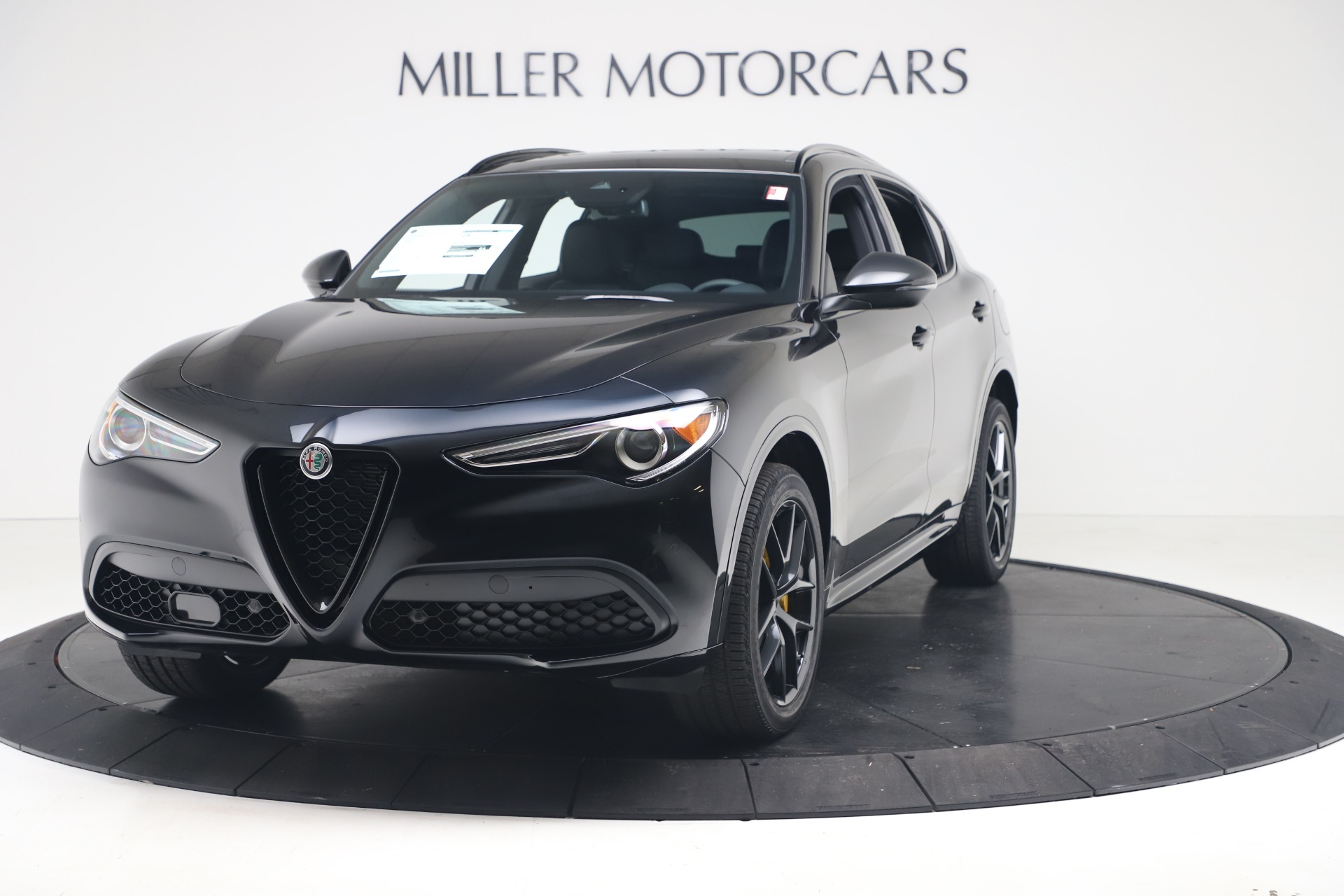 New 2020 Alfa Romeo Stelvio Ti Sport Q4 for sale $57,590 at Maserati of Greenwich in Greenwich CT 06830 1
