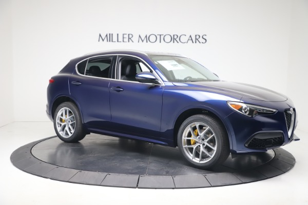 New 2020 Alfa Romeo Stelvio Ti Q4 for sale $54,340 at Maserati of Greenwich in Greenwich CT 06830 10