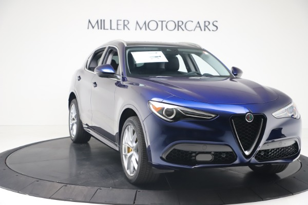 New 2020 Alfa Romeo Stelvio Ti Q4 for sale $54,340 at Maserati of Greenwich in Greenwich CT 06830 11