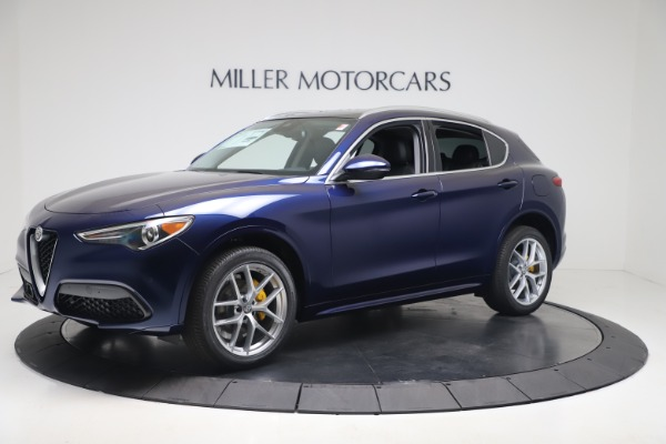 New 2020 Alfa Romeo Stelvio Ti Q4 for sale $54,340 at Maserati of Greenwich in Greenwich CT 06830 2