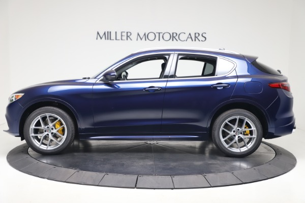 New 2020 Alfa Romeo Stelvio Ti Q4 for sale $54,340 at Maserati of Greenwich in Greenwich CT 06830 3
