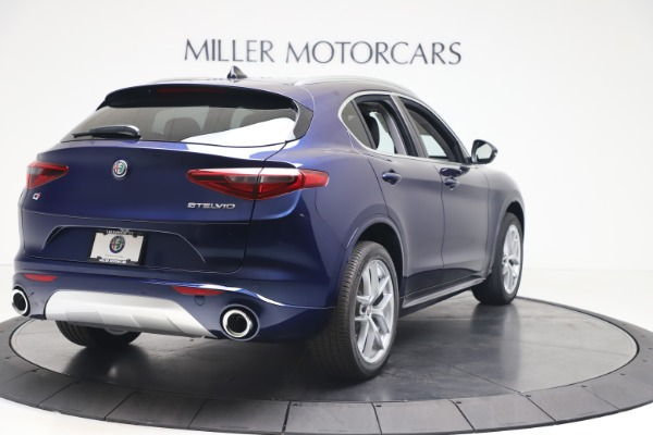 New 2020 Alfa Romeo Stelvio Ti Q4 for sale $54,340 at Maserati of Greenwich in Greenwich CT 06830 7