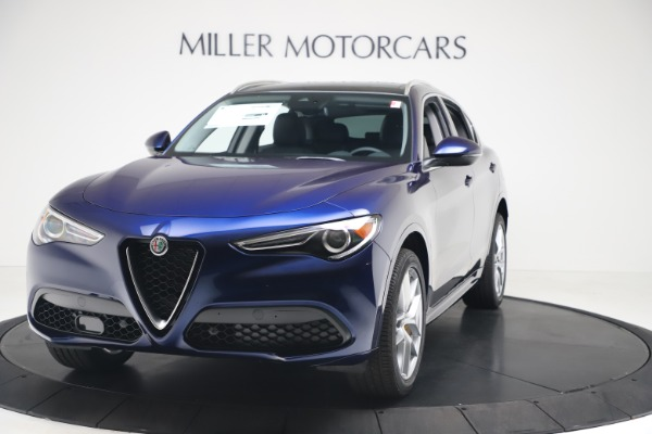 New 2020 Alfa Romeo Stelvio Ti Q4 for sale $54,340 at Maserati of Greenwich in Greenwich CT 06830 1