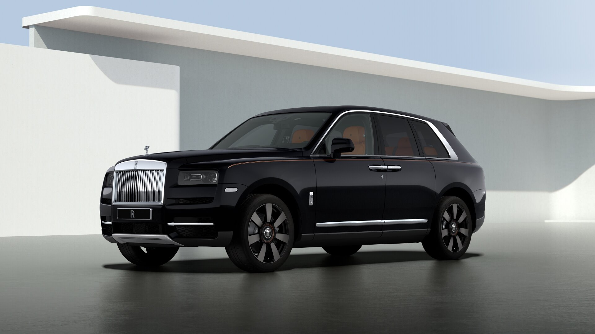 New 2020 Rolls-Royce Cullinan for sale $383,500 at Maserati of Greenwich in Greenwich CT 06830 1